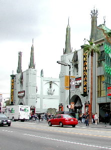 Grauman's Chinese Theater in Los Angeles