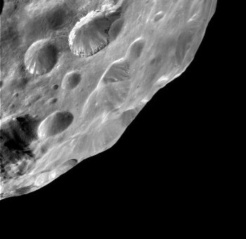 Phoebe, a moon of Saturn