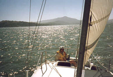ed sailing on sf bay