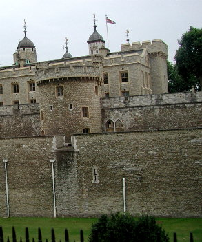 part of the tower of london